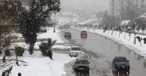 الثلوج تزور الأردن ..التفاصيل