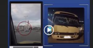 الامن يحجز مركبة عمومية تسير بعكس السير.. فيديو