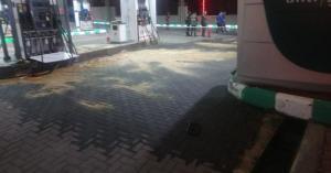 البنزين في شوارع عمّان! (صور)