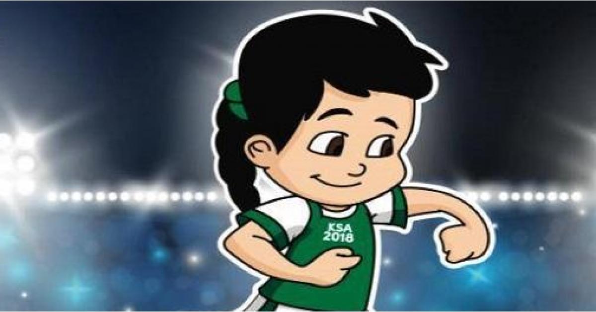 شاهد بالفيديو... اول معلقة رياضية سعودية