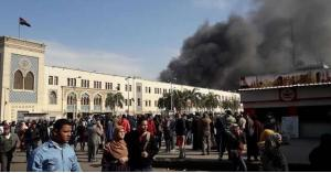 وفيات بحريق هائل في القاهرة (فيديو)