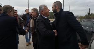زيادين يستقبل الوفد السوري المشارك في البرلمان العربي