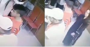 شاب يتحرّش بفتاة ويقبلها في جدة.. فيديو