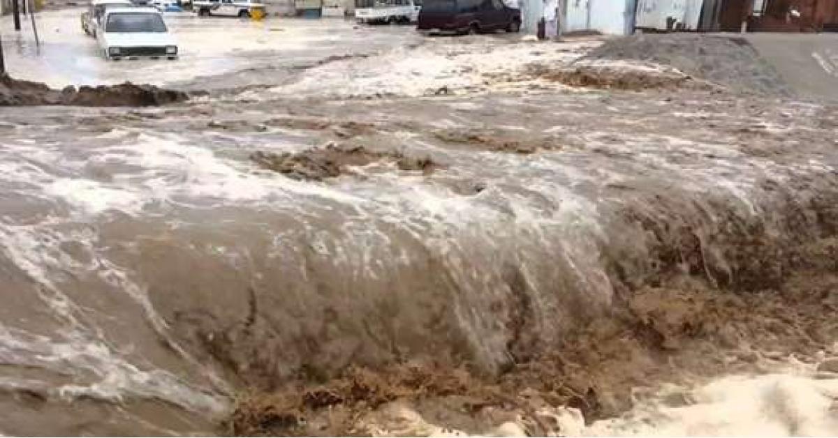 تحذيرات من تشكل السيول في هذه المناطق