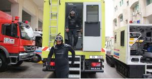 2000 حادث تعامل معهم الدفاع المدني