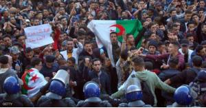 اطلاق مسيل الدموع في العاصمة الجزائرية