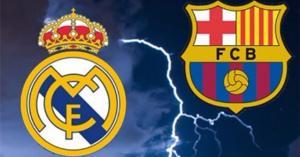 نتيجة مباراة برشلونة وريال مدريد