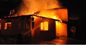 وفاة واصابات اثر حريق منزل في جرش