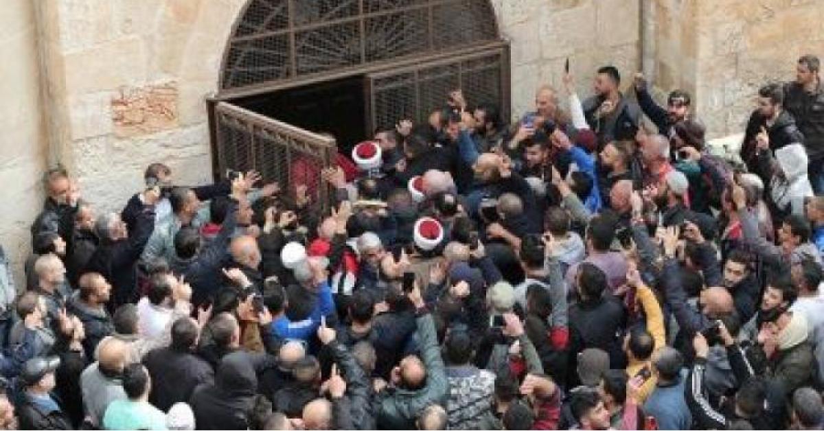باب الرحمة المسجد الاقصى