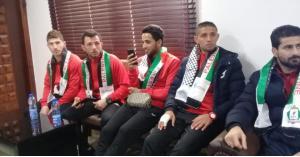الوحدات يصل رام الله (فيديو وصور)