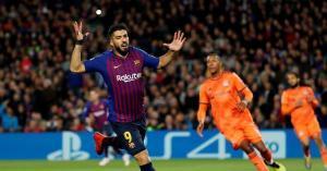 مباراة برشلونة وليون مباشر