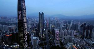 مباني الصين تتزين بعلم الاردن