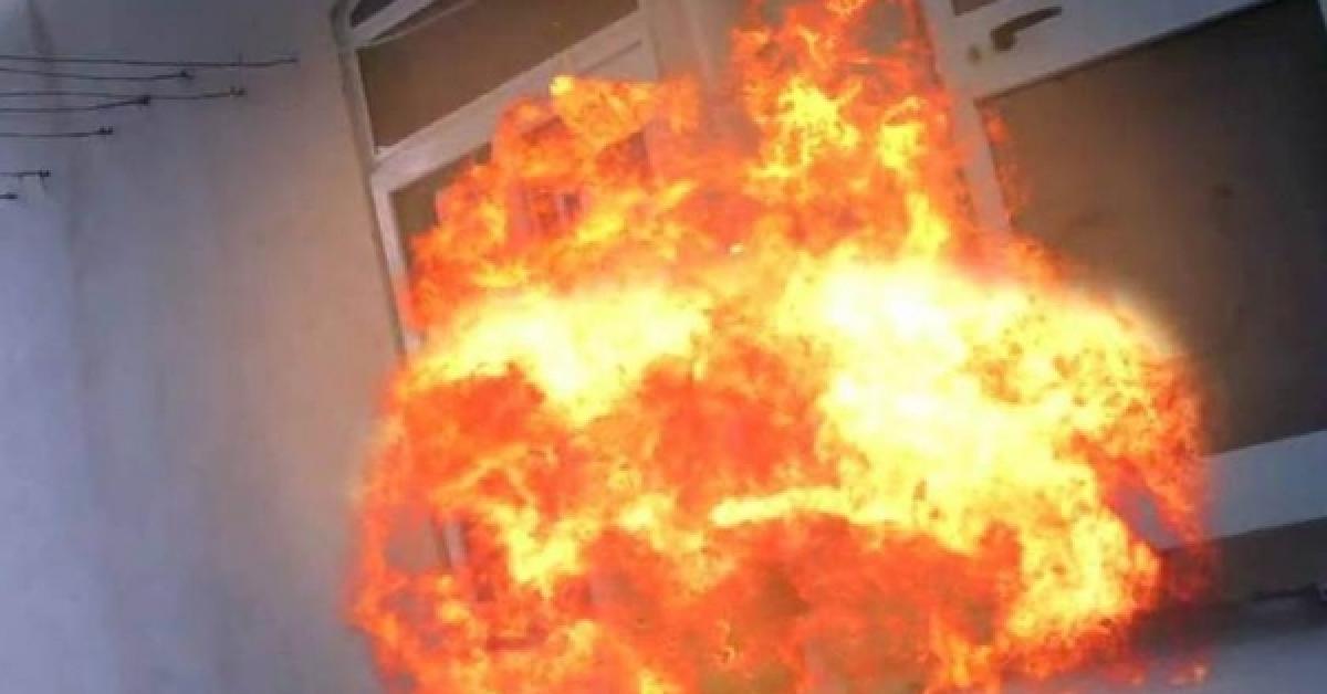 انفجار أسطوانة غاز في إربد
