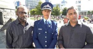 """بـ""""تحية الإسلام"""" وجهت شرطة نيوزيلندا خطاب للمسلمين"""
