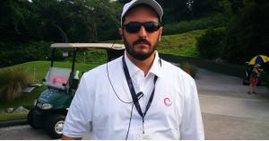 العبداللات الحكم الرئيسي في أولمبياد ذوي الاحتياجات الخاصة للجولف