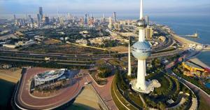 انهيار سقف مسجد بالكويت