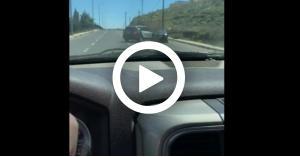مطاردة هوليوودية لمطلوب من قبل دورية شرطة.. فيديو
