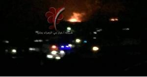 الدفاعات الجوية السورية تتصدى لعدوان صهيوني