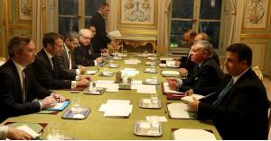 """جلالة الملك والرئيس الفرنسي """"ماكرون"""" يعقدان مباحثات ثنائية"""