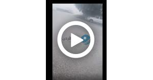 بدء تساقط الثلوج في عجلون.. فيديو