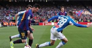 ميسي يحسم ديربي كتالونيا لصالح برشلونة
