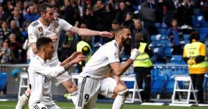 بنزيما ينقذ ريال مدريد