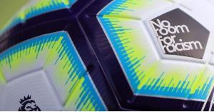 """كرة خاصة تُلعب بها هذا الجولة من الدوري الإنجليزي مُعنونة بـ """"لا مكان للعنصرية"""" (صورة)"""