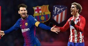 موعد مباراة برشلونة واتلتيكو مدريد اليوم