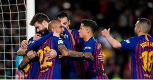 تشكيلة برشلونة ومانشستر يونايتد