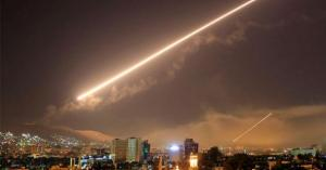 سوريا تتصدى لصواريخ صهيونية