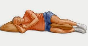 ما سبب وضع الرسول يده اليمنى تحت خده عند النوم