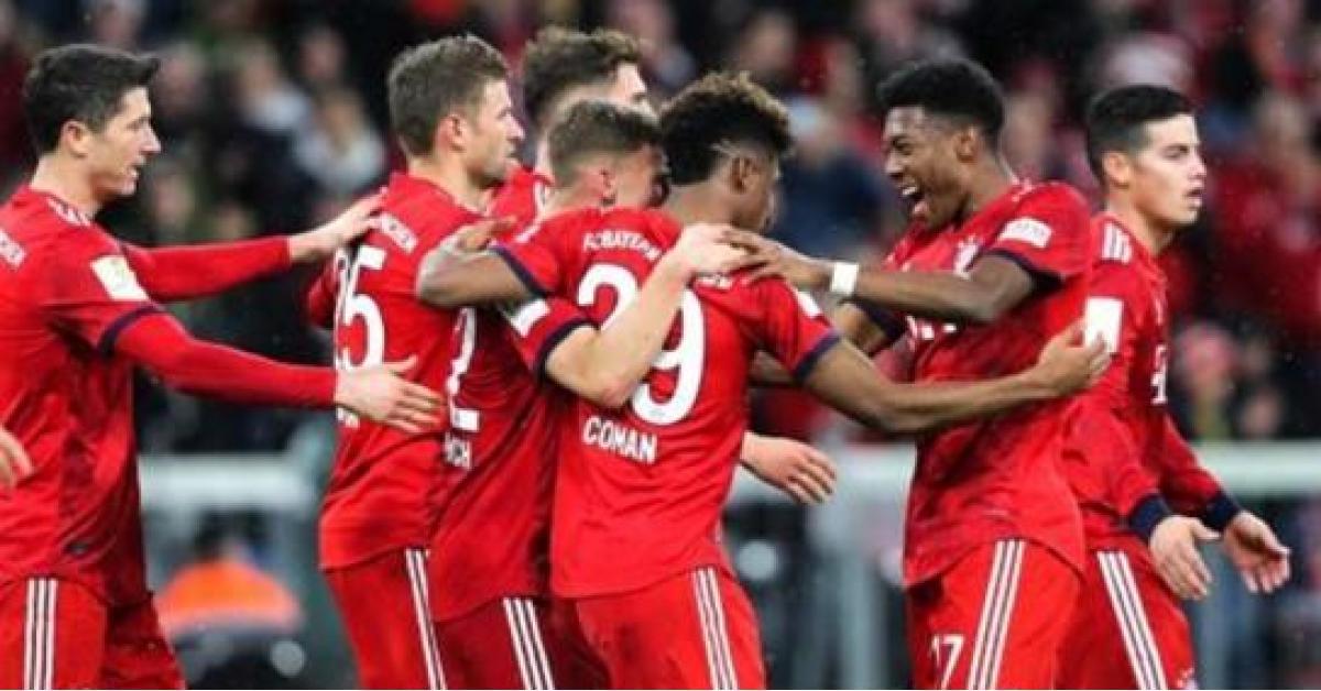 نتيجة مباراة بايرن ميونيخ وفورتونا