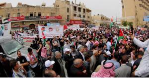 مادبا.. مسيرة شعبية داعمة لمواقف الملك تجاه القدس (صور)