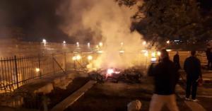 حريق في المسجد الاقصى