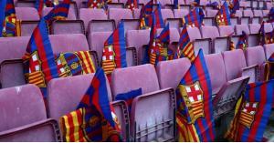 قبل موقعة الكامب نو.. برشلونة يدفع بكامل نجومه (صور)