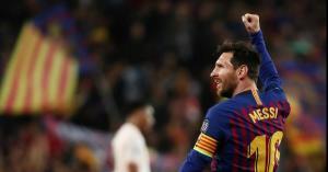ميسي يقود برشلونة لاقصاء مانشستر يونايتد