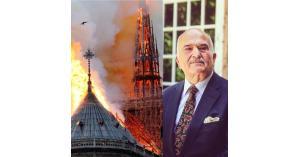 """بيان الأمير الحسن حول حريق كاتدرائية """"نوتردام"""""""
