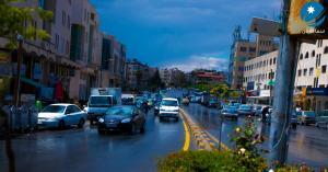 """ثلوج وشتاء """"نيسان"""" في عمان.. صور"""