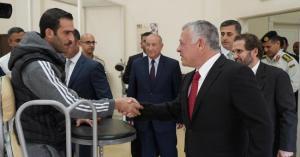 الملك يزور الهيئة الهاشمية للمصابين العسكريين
