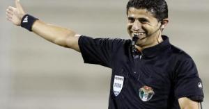 بالفيديو …مدرب لبناني يعتدي على الحكم الأردني احمد يعقوب