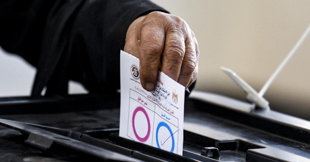 الشعب المصري يقرر تمديد فترة ولاية الرئيس