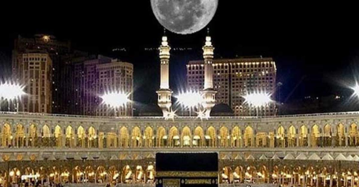 شاهد بالفيديو.. ظاهرة فلكية نادرة في مكة المكرمة
