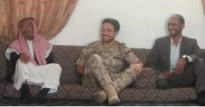 ولي العهد في منزل الرقيب سالم محمد مفلح في المريغه (فيديو)