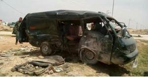 12 اصابة بحادث تدهور حافلة صغيرة في الكرك