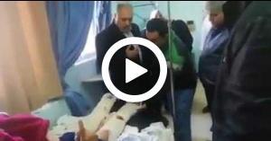 """خلال زيارة وزير الصحة لمستشفى حكومي.. """"بتخافوا من الوزير ما بتخافوا من الله"""".. فيديو"""