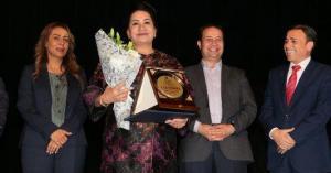 الأردن يكرم الممثلة الكويتية سعاد العبد الله