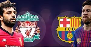 تشكيلة برشلونة وليفربول اليوم (صور)