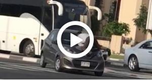 الامارات شرطة دبي موظف مواقف