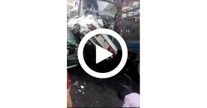 """الدفاع المدني يوضح حقيقة الفيديو """"الكارثي"""" في اربد"""