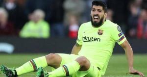 مهاجم برشلونة سواريز يخضع لعملية جراحية